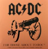 AC/DC - 'For Those About to Rock' Sticker